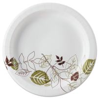 "Dixie 8.5""Medium-Weight Paper Plates by GP PRO (Georgia-Pacific), Pathways, UX9PATHPB, 600 Count (300 Plates Per Pack, 2 Packs Per Case)"