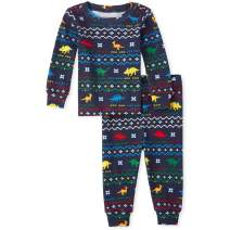 The Children's Place Baby Boys Top and Pants Pajama Set