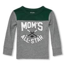 The Children's Place Baby Boys Graphic Long Sleeve Shirts