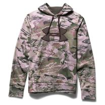 Under Armour Womens Armour fleece Camo Big Logo Hoodie