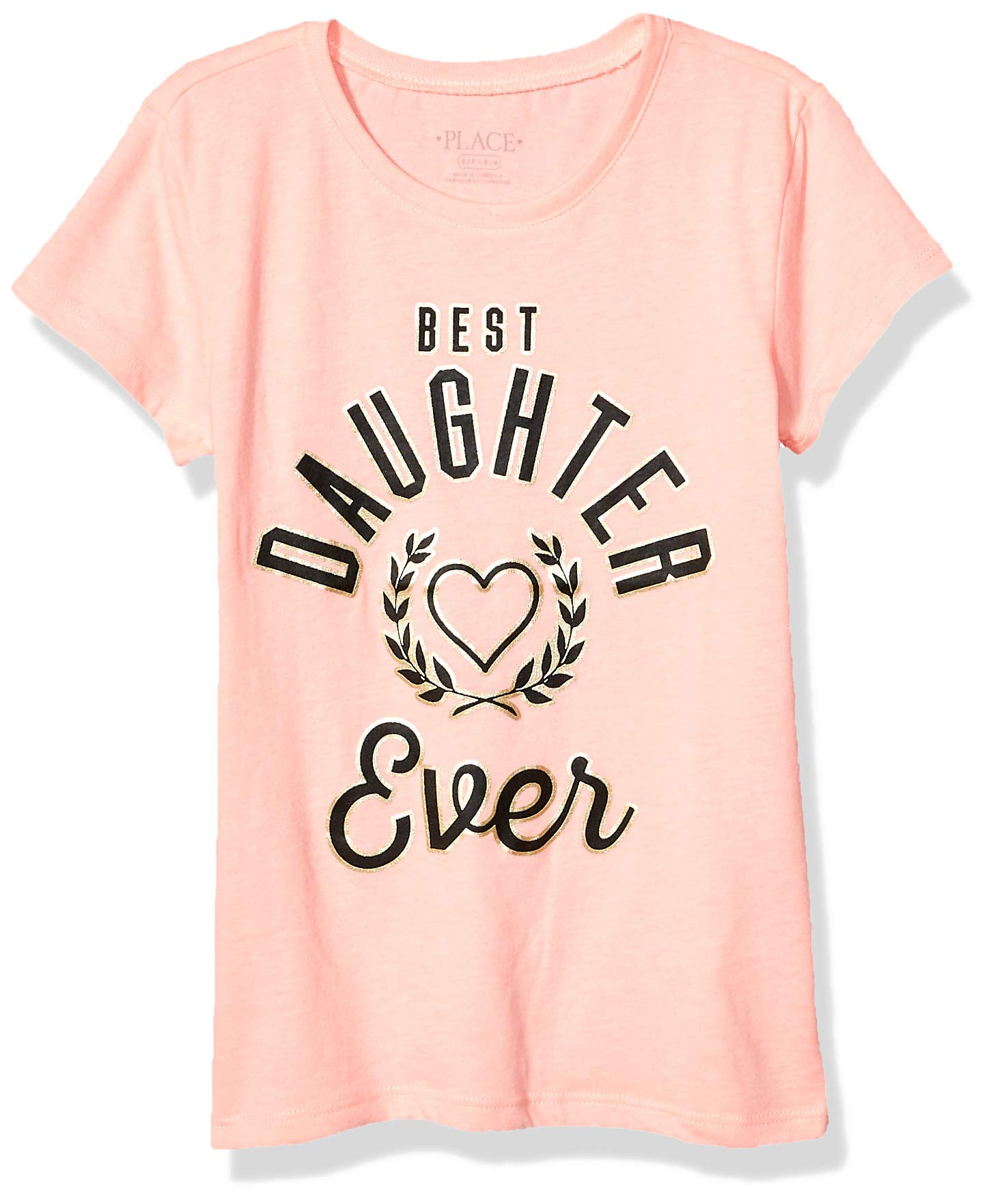 The Children's Place Girls' Big Short Sleeve Graphic Tees