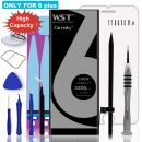 Carvesky High Capacity 3250 mAh Li-ion Battery for IP 6P Replacement with Complete Repair Tools Kits, Instruction and Screen Protector with 24 Month Warranty [Only for ip6 p]