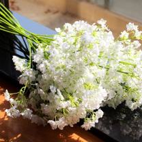 """20PCS Artificial Flowers, Gypsophila, Baby Breath 16"""" Fake Flower Simulation Real Touch Bouquets for Wedding Party Home DIY Hotel Table Decoration Garden"""