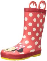 Western Chief Kids Womens Minnie Mouse Rain Boots (Toddler/Little Kid/Big Kid)
