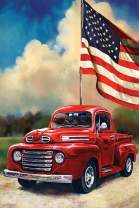 American Car Diamond Art Painting Kit by LUHSICE, 60x90cm