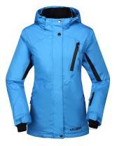 Krumba Women's Sportswear Outdoor Waterproof Windproof Hooded Ski Jacket