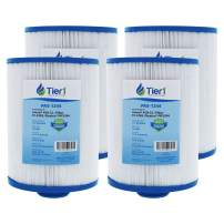 Tier1 4ch-22 Freeflow Lagas FF-150 CLX TLX, Pleatco PFF25P4, Filbur FC-2399, Unicel 4CH-22 Comparable Replacement Filter Cartridge (4-Pack)