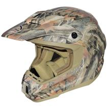 Core Forester MX-1 Off-Road Helmet (Tan Camouflage, Large)