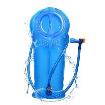 JINFIRE Hydration Bladder 2 Liter Leak Proof Water Reservoir for Backpacking, Biking, Hiking, Camping