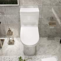 """Mecor One-Piece Toilet Siphon Flushing, Soft Closing Quick Release Seat, Full Flush 1.28Gpf, White (27.9""""x14.5""""x29.1"""")"""