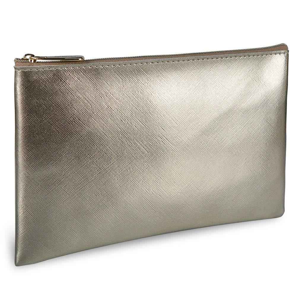 GANAMODA Jewelry Organizer, Travel Jewelry Storage Cases Cosmetic Bag for Women Waterproof Organizer Multifunction Case