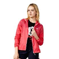 TFO Women's Lightweight Packable Quick Dry Petite Jackets UV Protect Windproof Skin Coat