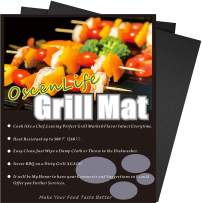 OscenLife Grill Mats - Nonstick BBQ Grill Mat Set of 4,Heavy Duty, Reusable and Easy to Clean - 13x16Inch …