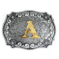 PANCY Western Style Cowboy Letter Belt Buckle For Men