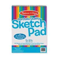 Melissa & Doug Sketch Pad (9 x 12 inches)