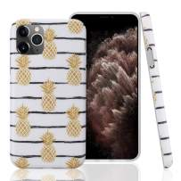 GOLINK Case for iPhone 11 Pro,Floral Series Slim-Fit Ultra-Thin Anti-Scratch Shock Proof Dust Proof Anti-Finger Print TPU Gel Case for iPhone XI Pro 5.8 inch(2019 Release)-Pineapplpe