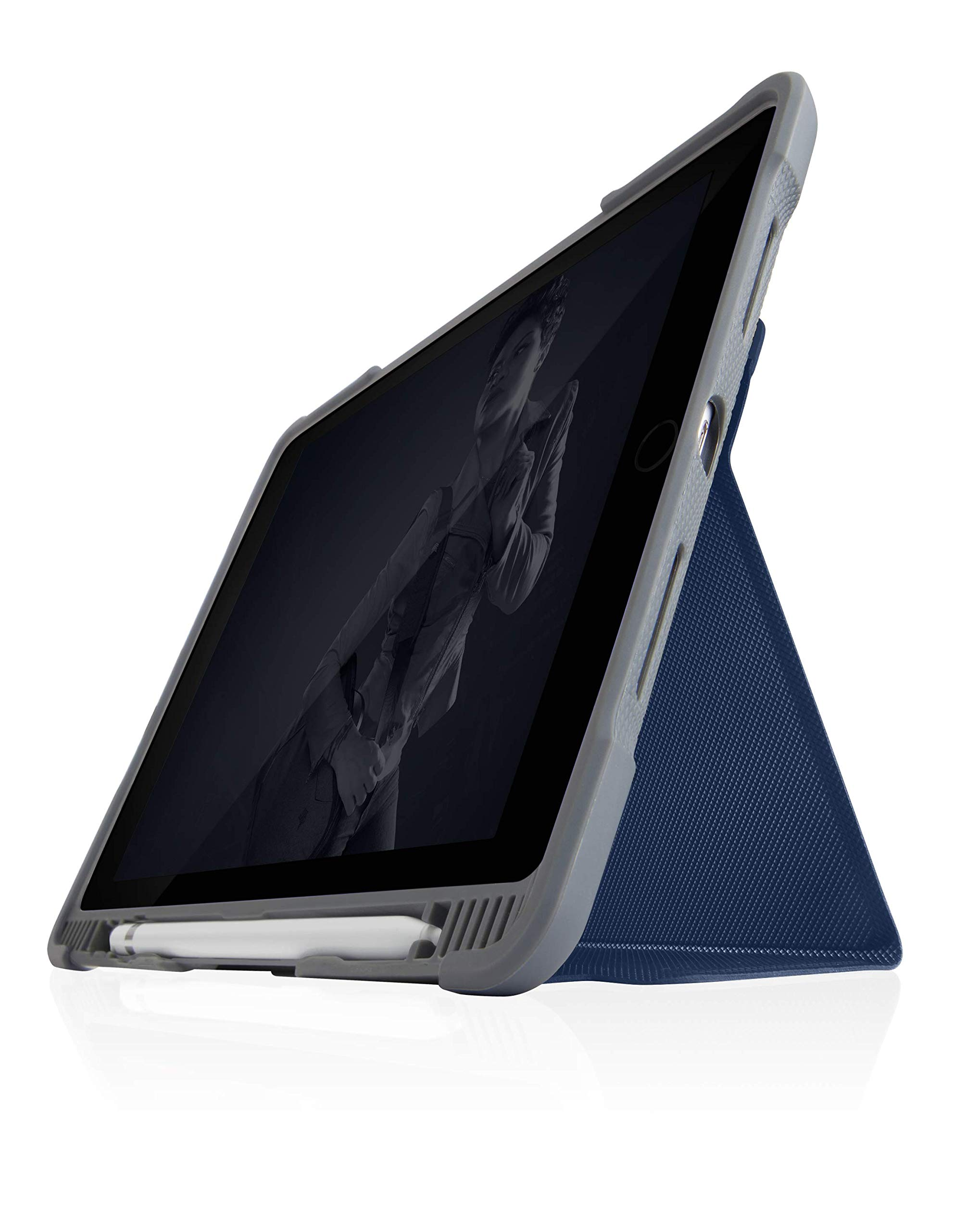 STM Dux Plus Duo, Ultra-Protective case for Apple iPad 7th Gen - Midnight Blue (stm-222-236JU-03)