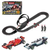 Carrera GO!!! 62482 Speed Grip Electric Slot Car Racing Track Set 1:43 Scale