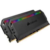 Corsair Dominator Platinum RGB 16GB (2x8GB) DDR4 3000 (PC4-24000) C15 1.35V Desktop Memory