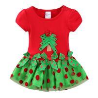 LittleSpring Baby Girls Dress Tree Christmas