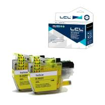 LCL Compatible Ink Cartridge Pigment Replacement for Brother LC3029 XXL LC3029Y High Yield MFC-J5830DW J5830DWXL J5930DW J6535DW J6535DWXL J6935DW (2-Pack Yellow)