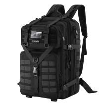MOSISO 50L Tactical Backpack, Large Men 3 Day Assault Rucksack Military Daypack