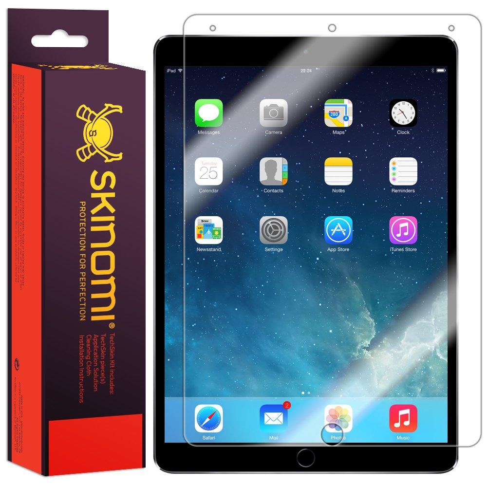 Skinomi Screen Protector Compatible with iPad Pro 10.5 inch (2017) Clear TechSkin TPU Anti-Bubble HD Film
