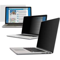 """V7 PS15.0MA2-2N 15"""" Privacy Filter (16:10, 13.50 x 8.74 in / 34.3 x 22.2 cm, MacBook Compatible, Cleaning Cloth, mounting Straps) matt/Glossy"""