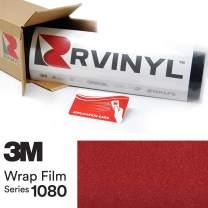 3M 1080 G203 Gloss RED Metallic 5ft x 10ft W/Application Card Vinyl Vehicle Car Wrap Film Sheet Roll