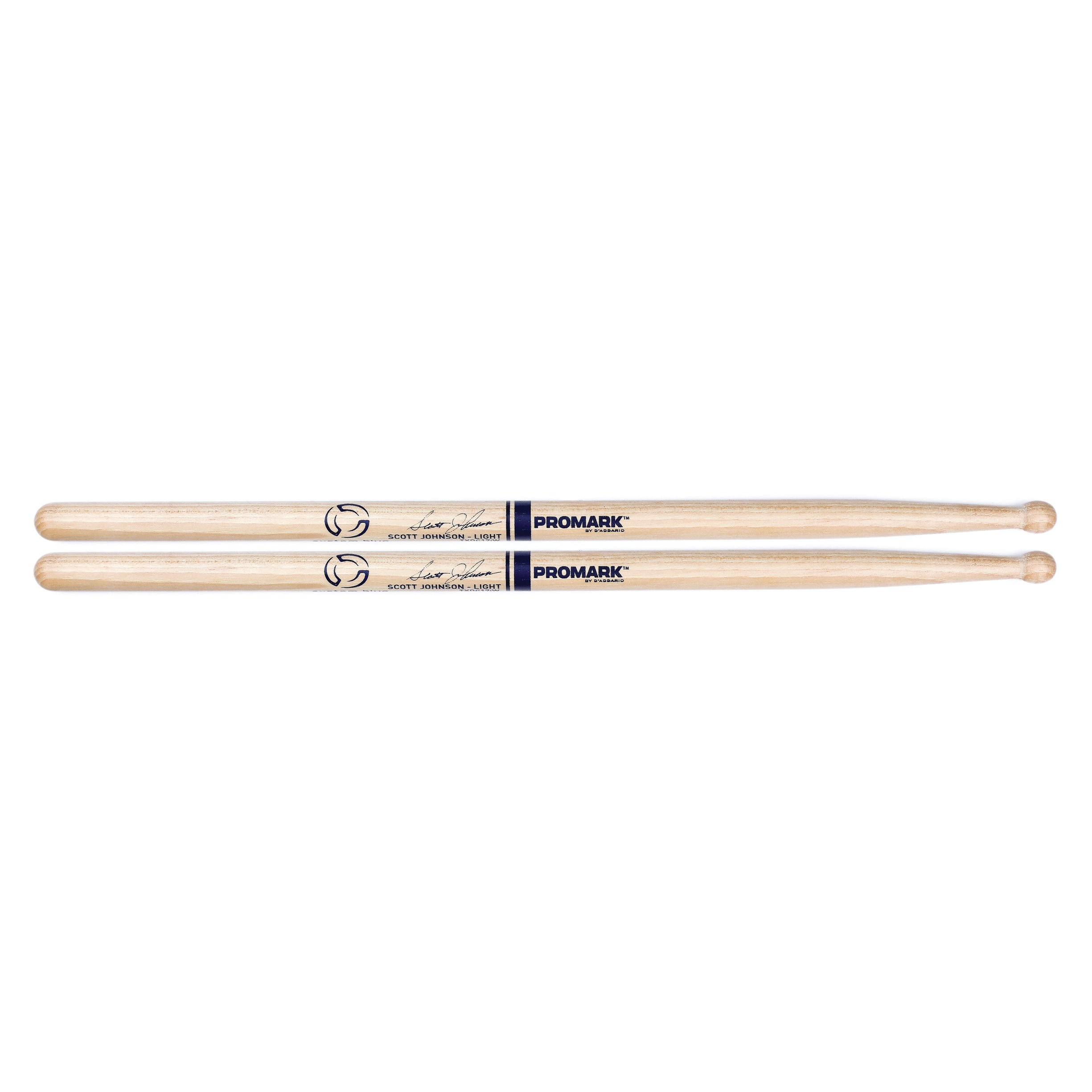 ProMark TXDC17IW Promark System Blue Scott Johnson DC17 Light Drumsticks
