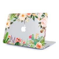 MacBook Air 13.3 Inch Case Rose Flower, Matte Transparent Soft Touch Hard Shell Clear Cover Fit MacBook Model A1466 A1369 2010-2017 with Keyboard Cover
