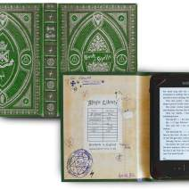 Kindle Paperwhite and Kindle eReader Case with Harry Potter Themed Book of Spells Cover (Compatible with New Paperwhite 2018) (New Slytherin Green)