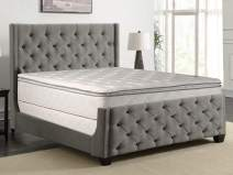 Greaton 48-inch Fully Assembled Medium Plush Pillow Top Double-Sided Innerspring Type Mattress 48-inch