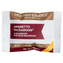 Heather's Choice Packaroons, Amaretto, Wholesome, Gluten-Free, Allergen-Friendly Coconut Cookies for Backpacking, Camping, Hunting and Travel
