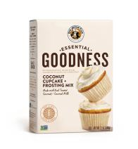 King Arthur Flour Essential Goodness Coconut Cupcake Plus Frosting Mix, 12 Ounce