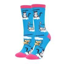 HAPPYPOP Funny Nurse Doctor Medical Socks For Women, Nursing Gift For RN Nurses Doctor and Medical School Graduation