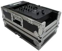 "Harmony Cases HC10MIX Flight DJ Road Travel 10"" Mixer Custom Case Compatible with Numark M4"