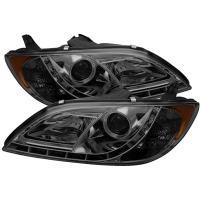 Spyder Auto PRO-YD-M304-DRL-SM Smoke LED Projection Headlight