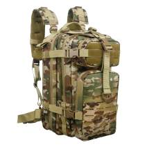 GreenCity Small Tactical Backpack Military Assault Pack Rucksack Molle Bag