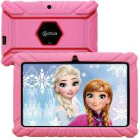 Contixo V8-2 7 inch Kids Tablets - Girls Pink Tablet with Case - Android Tablet 16 GB HD Display with WiFi Camera - Learning Games Pre-Loaded - Bluetooth Tablets for Kids with Parental Control (Pink)