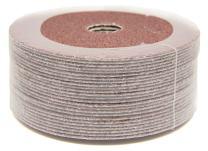 """5"""" x 7/8"""" 80 Grit Aluminum Oxide Resin Fiber Grinding & Sanding Discs - 25 Pack"""