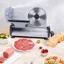 Household Professional Slicer Stainless Steel Automatic Commercial Cooks Meat Slicer Meat Cutter for Frozen Meat Bread Cheese Cutter
