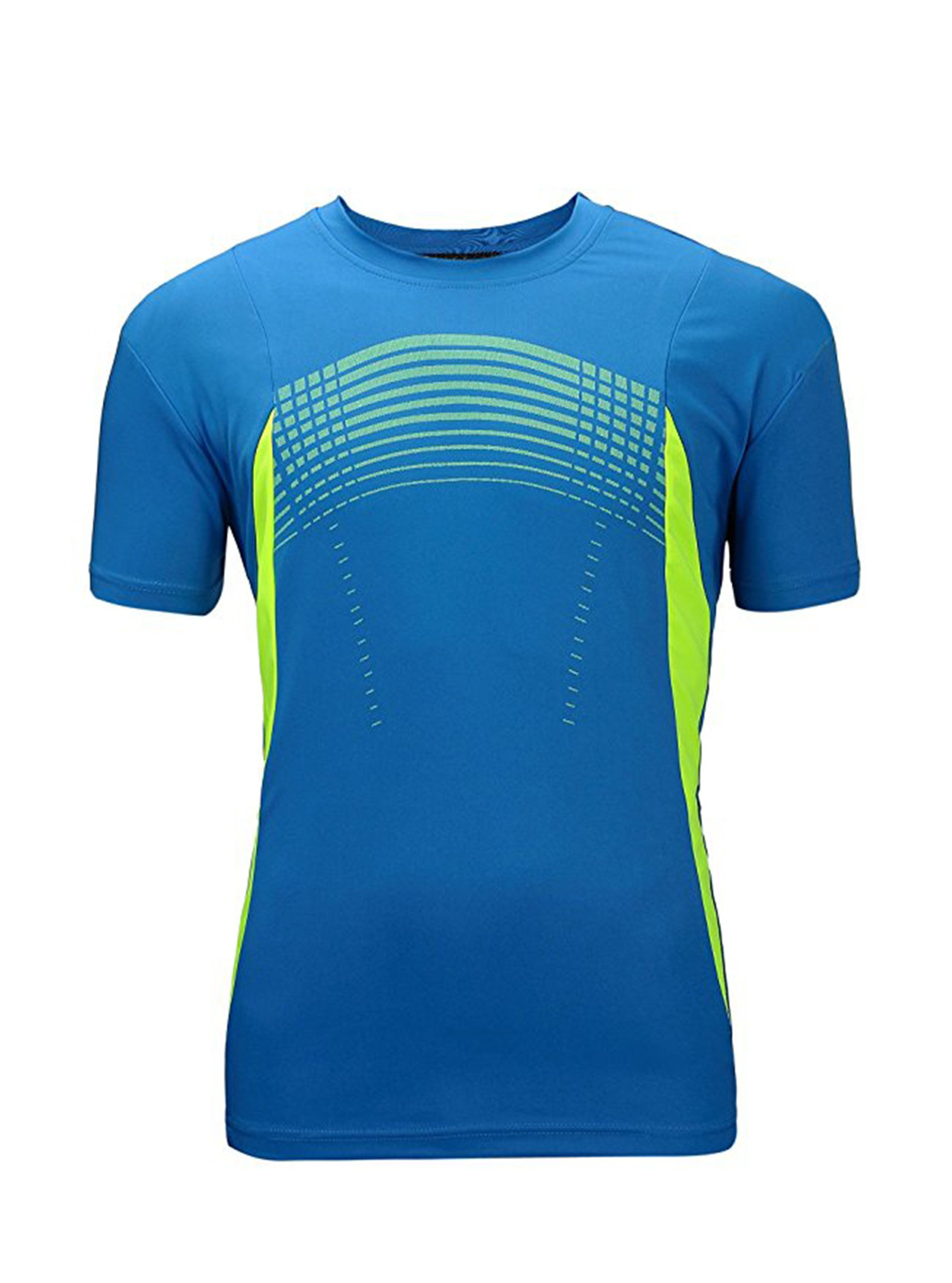 ZITY Men's Athletic Shirts Quick Dry Short Sleeve T-Shirt Running Workout Lightweight Soft Stretchy Tee