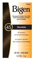 #45 Chocolate Bigen Permanent Powder - 12 Pack