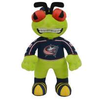 "Bleacher Creatures Columbus Blue Jackets Stinger 10"" Plush Figure- A Mascot for Play or Display"