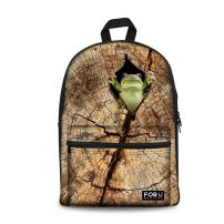FOR U DESIGNS Cute Casual Lightweight Canvas Girls Shoulder School Backpack Daypack Book Bag