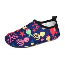 BFOEL Kids Water Shoes Quick Dry Lightweight Barefoot Aqua Socks for Girls Boys Sport Beach Swim Surf Outdoor