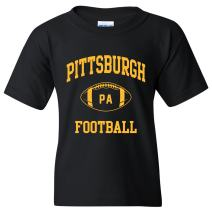City Classic Football Arch Youth T Shirt
