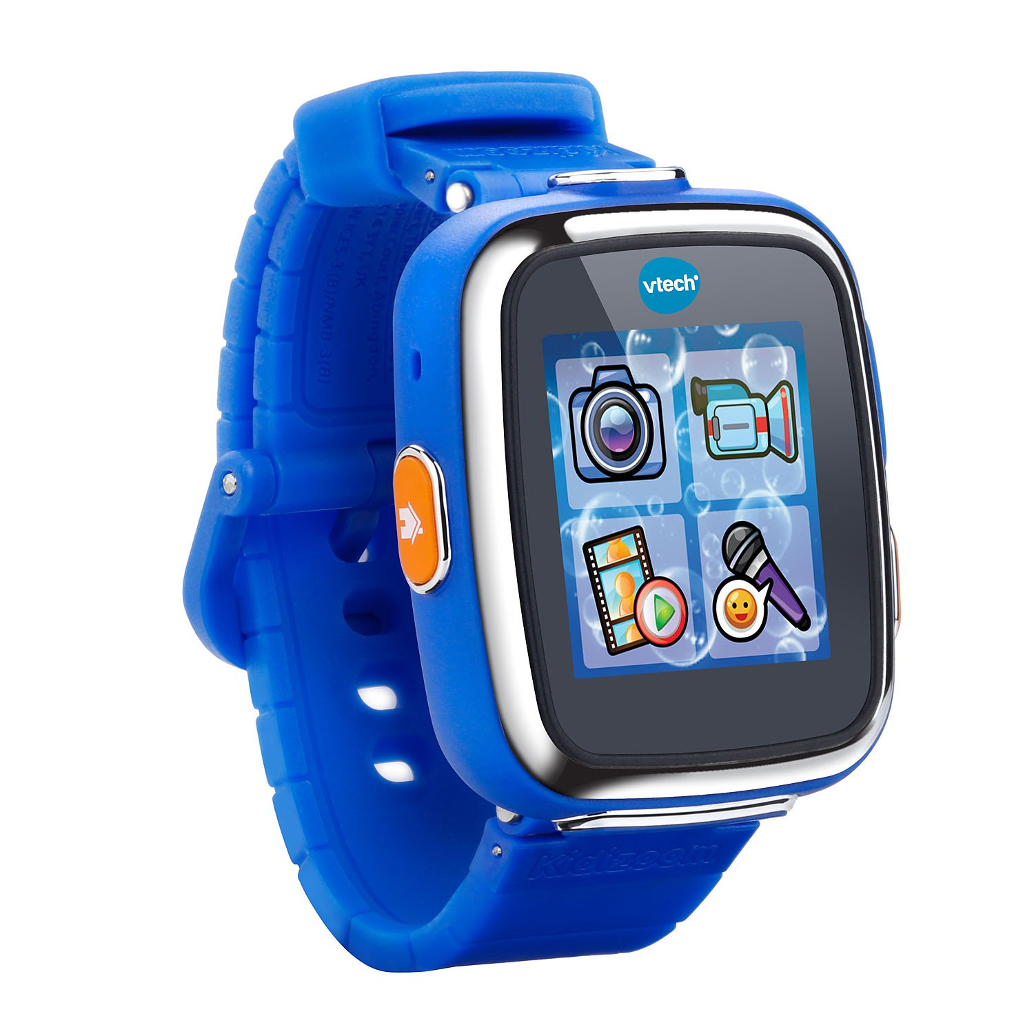VTech Kidizoom Smartwatch DX - Royal Blue, Great Gift for Kids, Toddlers, Toy for Boys and Girls, Ages 4, 5, 6, 7, 8, 9
