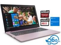 "Lenovo IdeaPad 330 Laptop, 15.6"" HD Display, AMD A6-9225 Upto 3.0GHz, 16GB RAM, 2TB SSD, DVDRW, HDMI, Card Reader, Wi-Fi, Bluetooth, Windows 10 Pro - (Purple)"